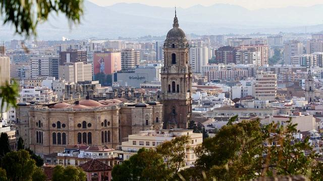 5 attractions in Malaga, Costa del Sol, Spain