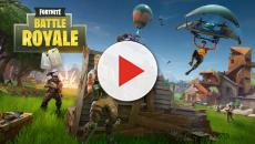 Fortnite Battle Royale: Snowfall in the game