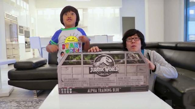 Top-earning YouTuber is a seven-year-old boy who reviews toys
