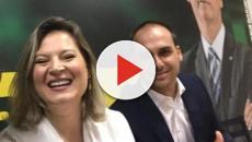 Joice Hasselmann entra em conflito com Eduardo Bolsonaro