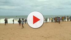 Vídeo mostra crianças brincando em mar agitado antes de se afogarem