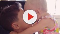Momentos fofos entre mães e filhos nas redes sociais