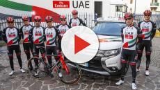 Ciclismo, rivoluzione per la UAE Emirates: tra le new entry Gaviria e Munoz