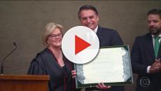 Bolsonaro e Mourão recebem diploma para assumirem a presidência