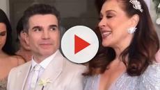 Claudia Raia compartilha detalhes do casamento