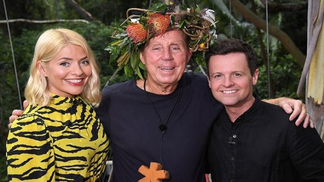 Harry Redknapp crowned the winner of 'I'm A Celebrity Get Me Out Of Here'