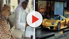 Carros banhados a ouro e algumas coisas que acontecem em Dubai