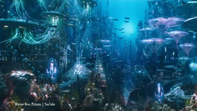 Aquaman: The movie received both good and bad reviews