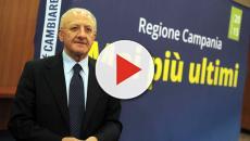 Per il Governatore della Campania, De Luca, Grillo è