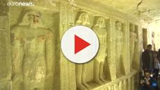 Ritrovato a Saqqara, in Egitto, un antico mausoleo 'Unico nel suo genere'