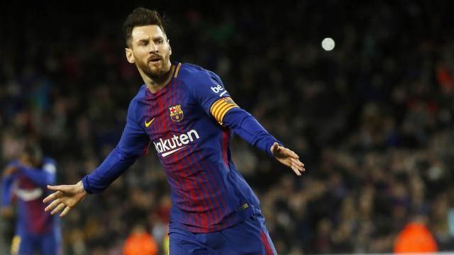 FC Barcelone: Lionel Messi prend la tête des buteurs 2018