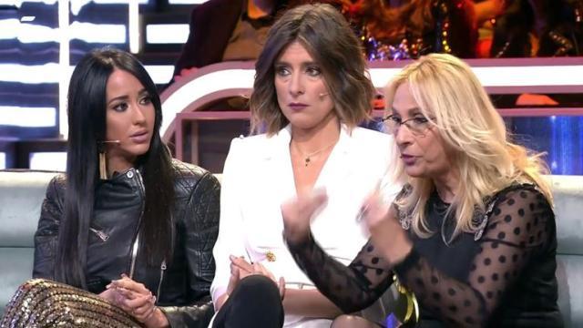 Aurah discute con Merche, la madre de Suso, en El Debate de GH VIP 6