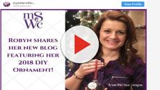 Sister Wives star Robyn Brown shared how to make ornament gifts for Christmas