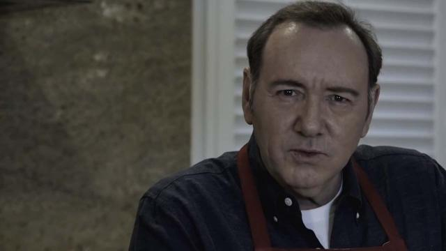 Kevin Spacey channels Frank Underwood in bizarre Christmas video