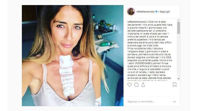 Uomini e donne: Raffaella Mennoia e il ricordo di un'operazione