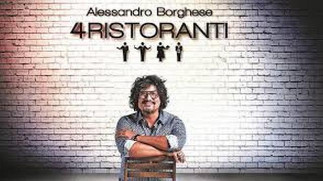 '4 Ristoranti' di Alessandro Borghese, stasera su Sky Uno la prima puntata