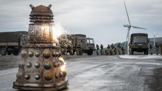 The Daleks made their return to Doctor Who