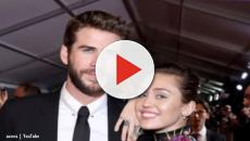 Miley Cyrus sees in the New Year with new in-laws