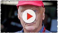 Niki Lauda: grave influenza presa a Ibiza, ricoverato in ospedale a Vienna