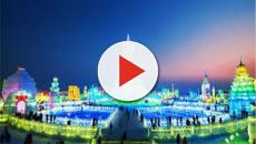 Arranca en Harbin festival de hielo y nieve
