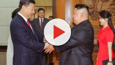 North Korea's Kim Jong-un visits China's Xi Jinping for the fourth time