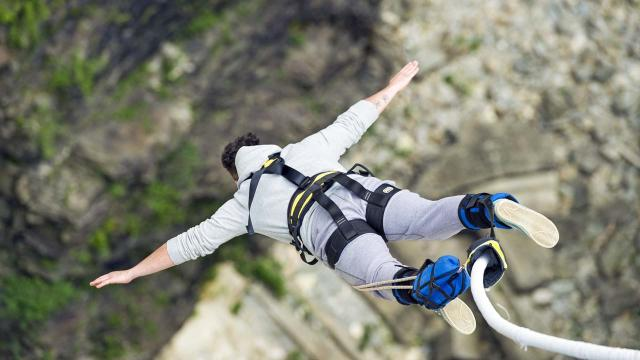 Bungee jump this year from one of the highest locations in the world