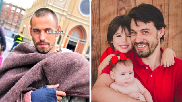 O Mendigo Gato de Curitiba hoje é casado e pai de 2 filhos