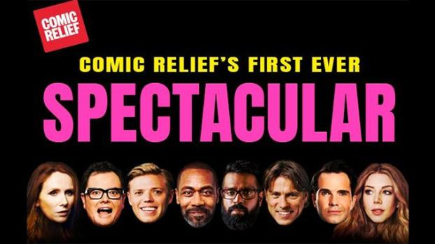 Comic Relief Spectacular event in February 2019 is set to wow Wembley