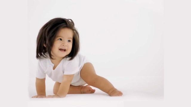 Baby Chanco is Pantene Japan's latest face