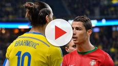 Football: Ibrahimovic dénonce 'les conneries' de Cristiano Ronaldo