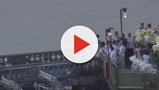 Aos pés do Cristo Redentor, DJ Alok se casa no Rio