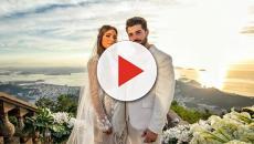 DJ Alok divulga fotos de seu casamento com Romana Novais e faz agradecimento