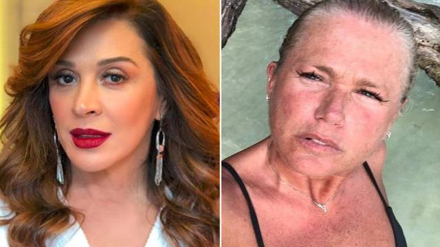 Claudia Raia defende Xuxa após apresentadora publicar foto sem maquiagem
