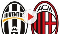 Juventus-Milan: il match visibile in tv su RaiUno e in streaming su RaiPlay