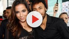 Neymar vê Anitta de biquíni e canta hit sensual