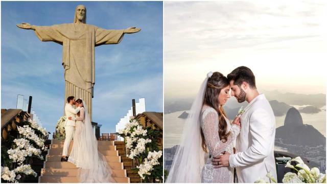 Vídeo lindo do casamento de DJ Alok no Cristo Redentor impressiona
