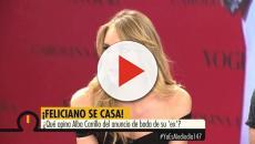 Para Alba Carriillo la boda de Feliciano se la hace 'bola'
