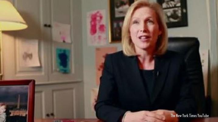Democrat Kirsten Gillibrand to contest for presidency in 2020