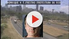 Câmeras da prefeitura do RJ flagram acidente do ator Caio Junqueira