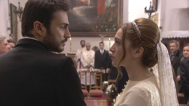 Anticipazioni Il Segreto trame spagnole: Saul e Julieta si sposano