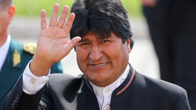 Evo Morales sigue de cerca los actos para el 22 de enero