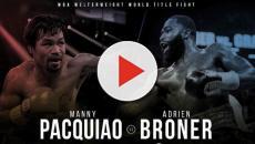Manny Pacquiao vs Adrien Broner, live su Dazn il mondiale dei pesi welter