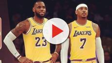 LeBron James has hinted that he wants Carmelo Anthony in L.A.
