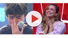 The Voice Kids: Claudia Leitte ajuda criança após ela se emocionar no palco