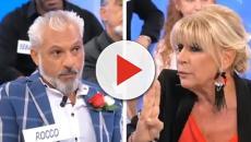 Uomini e Donne: Gemma Galgani e Rocco Fredella si accusano reciprocamente