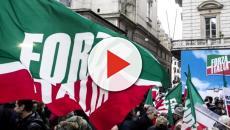Forza Italia compie 25 anni: i sondaggi danno al 12% il partito di Berlusconi
