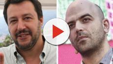Saviano accusa dopo baciamano a Salvini: 'Svelato vero volto della Lega al Sud'
