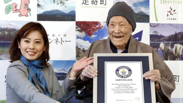 Masazo Nonaka: World's oldest man dies in Japan aged 113
