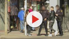 La policía, interviene en la nueva pelea de Isa Pantoja y Omar en plena calle
