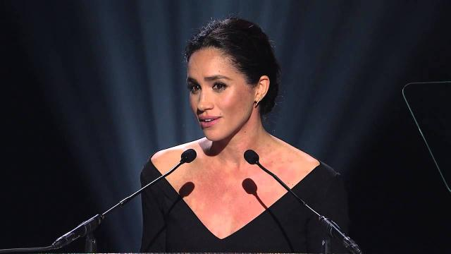 Meghan Markle welcomes New Zealand Prime Minister in London